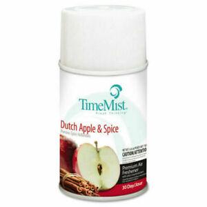 TimeMist Metered Fragrance Dispenser Refill Dutch Apple & Spice 6.6 oz Aerosol
