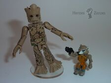 Marvel Minimates Guardians of the Galaxy Movie Wave Groot & Rocket Raccoon