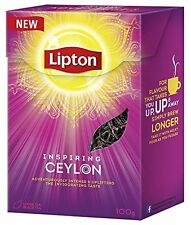 LIPTON Black Tea Inspiring Ceylon Loose Tee Intense & Uplifting 100g 3.5oz