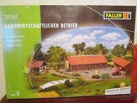 Faller N 232367 Bausatz Landwirtschaftlicher Betrieb neu,OVP,M 1:160,