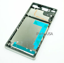 USA Mid Frame Face Plate Bezel Housing for Sony Xperia Z3 D6603 D6643 White