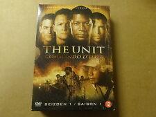 4 DVD BOX / THE UNIT: COMMANDO D'ELITE COMPLETE SEIZOEN / SAISON 1