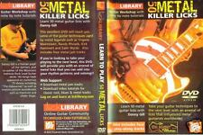 Learn To Play 50 Metal Killer Licks - Lick Library