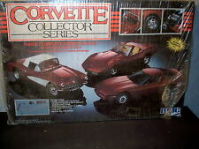Model Kit 3-Corvette Collector Series