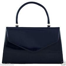 Fi9 Retro Tote Patent Leather Bridal Wedding Evening Handbag Party Purse C