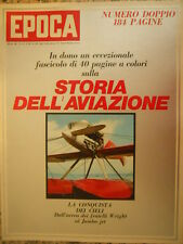 EPOCA 1076 1971 Barnard - Storia aviazione con INSERTO