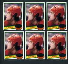 Kent Nilsson Flames lot 14 Topps 1980 ROOKIE 1981 cards