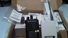 Motorola MotoTRBO UHF XPR 7550e Color Display, Bluetooth with Option Board