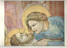 "1960 Art Print ""Head of the Madonna  Over Christ"" by Giotto di Bondone Italian"