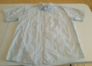 Premiere Heritage Shirt Vintage Short Sleeve Raised Floral Print Size Large