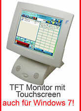 "TFT 12 "" 30,5cm Monitor with Quality Touchscreen for Continuous Operation Win 7"