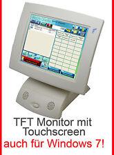 """Tft 12"""" 30,5cm moniteur avec hochwerigen écran tactile pour fonctionnement continu pour win 7 xp"""