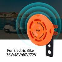 36V/48V/60V/72V Waterproof Smart Electronic Horn Ring Bell for Electric Bike