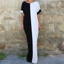Women Fashion Batwing Sleeve Loose Oversized Party Evening Long Maxi Dress Abaya