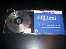 Claudio Baglioni – Da Me A Te CD single Columbia GDS01 La Gazzetta Dello Sport