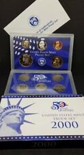 2000-S Proof Set 10 coins US Mint Original Packaging Box & COA free shipping