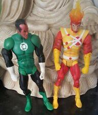 "DC UNIVERSE COMIC CLASSICS FIRESTORM AND SINESTRO GREEN LANTERN 7"" INCH RONNIE"