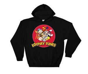 Looney Tunes Characters Hoodie Cool Gift Sweatshirt Jumper Pullover 3905