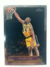 Shaquille O'Neal #23 Topps Chrome 2000