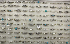 50pcs Women Girls Band Knuckle Ring Wholesale Jewelry Lots Joint Rings AH885
