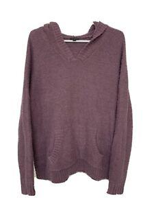 Torrid Soft Cozy Light Purple Hoodie Fromt Pocket Women's Size 0 Plus