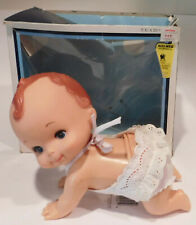 Vintage Hard Plastic Crawling Pixie Tiara Doll by Playmates
