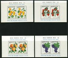 SOUTH KOREA SCOTT# 893a-900a FRUITS PART SET S/S MNH