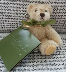HARRODS BEAR - TINY BEAR - KEYRING - BROWN