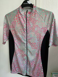 Fat Lass (Lad) At The Back Ladies Cycling Jersey 40 14/16