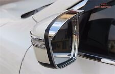 Chrome side Mirror trim Rain Visor For Nissan Qashqai X trail 2014 2015 2016