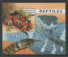 Thematic Stamps Animals - SAHARA 1998 REPTILES M/S mint