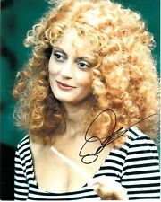 SUSAN SARANDON SIGNED WITCHES OF EASTWICK PHOTO UACC REG 242 FILM AUTOGRAPHS