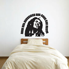 Bob Marley Quote – None But Ourselves Can Free Our Minds Vinyl Wall Art Decal...