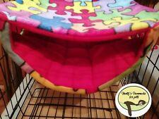 Cosy large double hammock ferret,rat,chinchilla,degu. Small Pets .