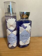 BATH & BODY WORKS ONE IN A MILLION Shower Gel 10oz & Fine Fragrance Mist 8oz.