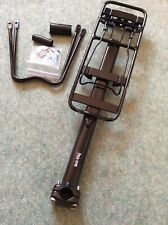 Bicycle Rear Rack Seat Post Frame Mounted Carrier Cargo Rack 10kg.