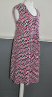 BODEN Ladies Summer Holiday Casual Dress UK 16 Regular Cotton Modal Pockets
