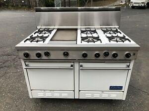 "Viking 6 Burner 48"" Range"