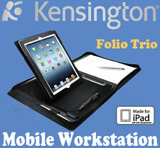 Kensington Folio Trio Mobile Workstation Zipper Case for iPad 2/3/4 K39577