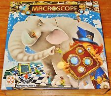 MACROSCOPE Image Deduction Party Game KICKSTARTER EDITION+GUESS PAD NEW/SHIPS $0