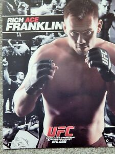 UFC RICH ACE FRANKLIN  DELUXE 8 1/2 X11 OFFICIAL PHOTO COLLECTIBLE