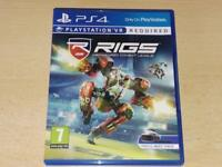 RIGS Mechanised Combat League PS4 Playstation 4 (VR Required) **FREE UK POST**