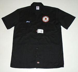 TITO'S Handmade Vodka Mechanic WORK Shirt DICKIES Button Up CHIEF Titos NWT : Lg