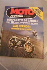 MOTO JOURNAL N°497 SUZUKI GSX 1100, APRILIA 125 MX ACQUA, CAGIVA 125 WMX 1981