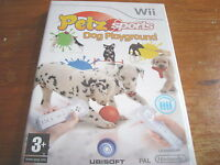 PETZ SPORTS DOG PLAYGROUND ** NEW & SEALED ** Nintendo Wii Game