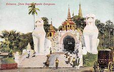 BR64894 shwe dragon pogoda rangoon  burma myanmar mandaley