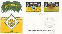 SC175) Bahamas Diamond Jubilee of World Scouting, cachet cover