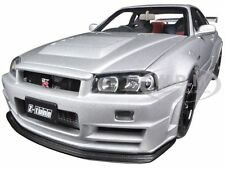 NISSAN SKYLINE NISMO R34 GT-R Z-TUNE (Z-TUNE SILVER) 1:18 BY AUTOART 77352