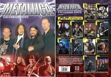 METALLICA  vintage 2009 CALENDAR +STICKERS  BY IMAGICOM