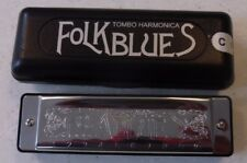 TOMBO DIATONIC FOLK BLUES HARMONICA BRAND NEW KEY OF C
